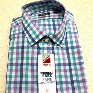 Izod Wrinkle Free Dress Shirt